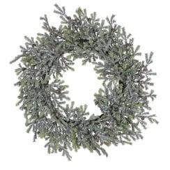 Danish Collection Frozen Pine Wreath