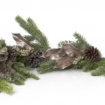 Danish Collection Garland Frosted  - L180cm
