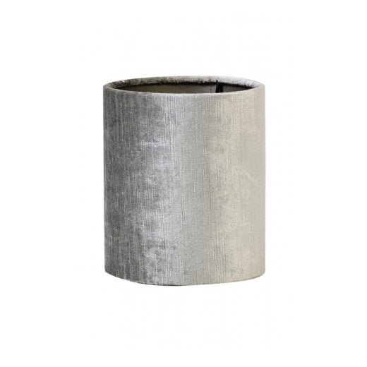 Danish Collection Gemstone Cylinder Shade - Silver