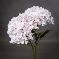 Danish Collection Giant Hydrangea Spray - Pink H115cm