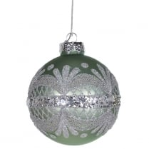 Danish Collection Glitter Band Bauble