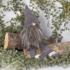 Danish Collection Gnome With Dangly Legs- Grey H43CM