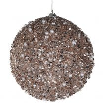 Danish Collection Gold Sparkle Bauble