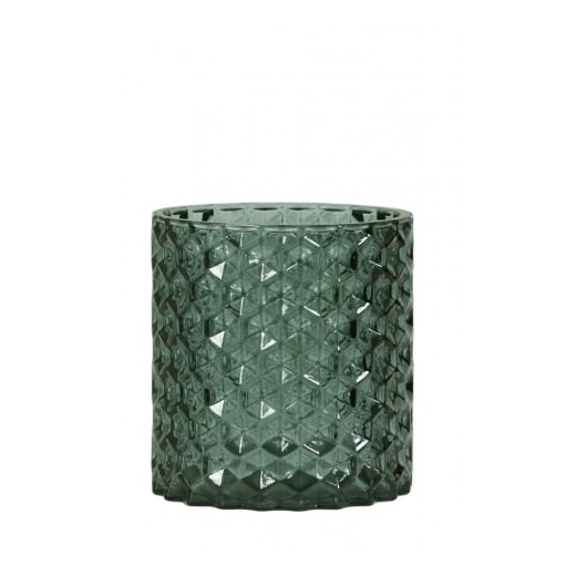 Danish Collection Green Glass Tea Light