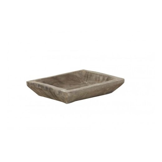 Danish Collection Grey Wooden Tray