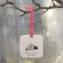 Danish Collection Hanging Christmas Decoration - Home