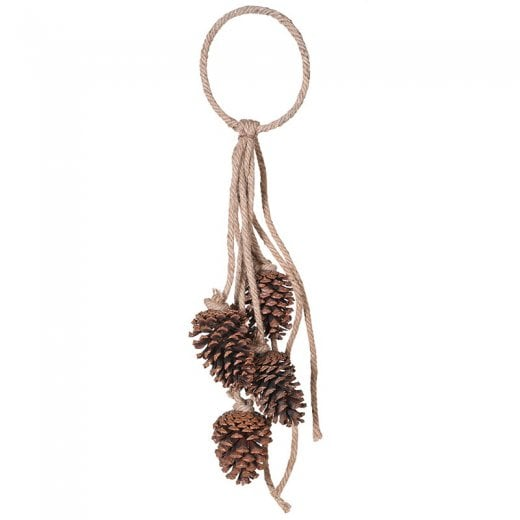 Danish Collection Hanging Pinecone Decoration