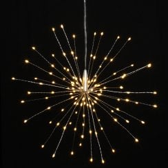 Danish Collection Hanging Starburst - 120 LED Lights