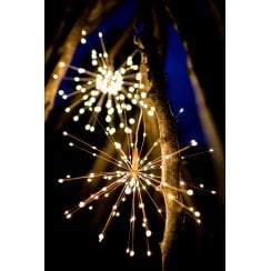 Danish Collection Hanging Starburst - 200 LED Lights