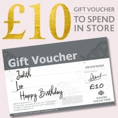 Danish Collection Happy Birthday Gift Voucher - £10.00