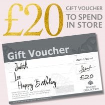 Danish Collection Happy Birthday Gift Voucher - £20.00