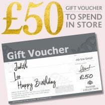 Danish Collection Happy Birthday Gift Voucher - £50.00