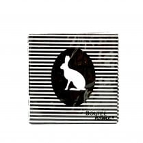 Danish Collection Hare Stripe Napkins - 20 pack