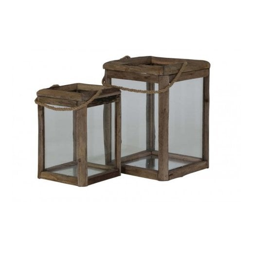 Danish Collection HILO Small Lantern - Brown