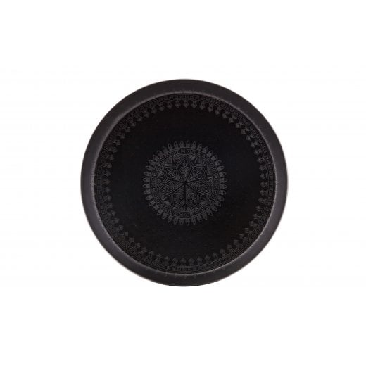 Danish Collection Iron Lady Metal Tray - Matte Black