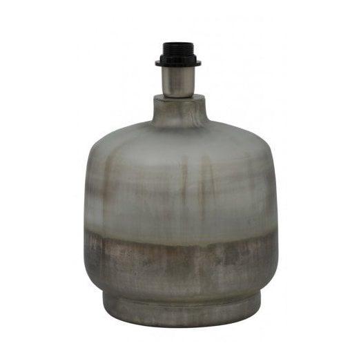 Danish Collection Irura Lamp Base - Silver/Grey