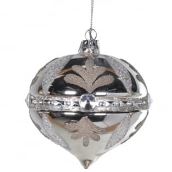 Danish Collection Jewel Band Onion Bauble