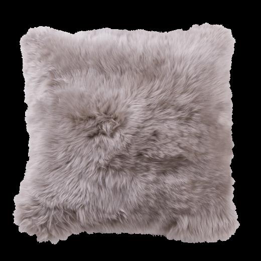 Danish Collection Lambskin cushion 40x40cm beige