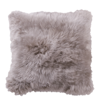 Danish Collection Lambskin cushion 40x40cm beige