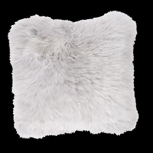 Danish Collection Lambskin cushion 40x40cm grey