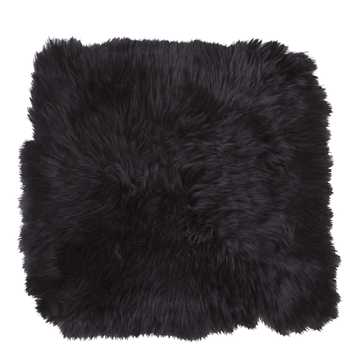 Danish Collection Lambskin Seat Pad 40x40cm - Black