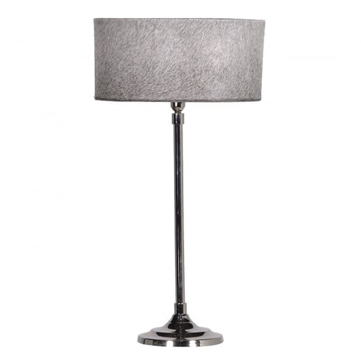 Danish Collection Lamp with Hide Shade