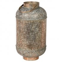 Danish Collection Lantern Tall - Antique Bronze Metal H70cm