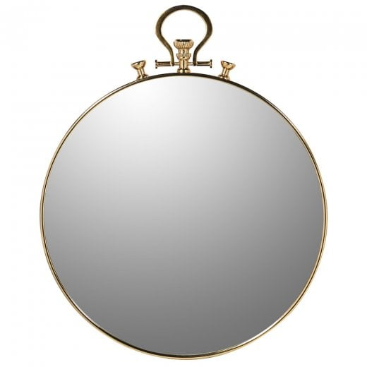 Danish Collection Large Pocket Watch Mirror