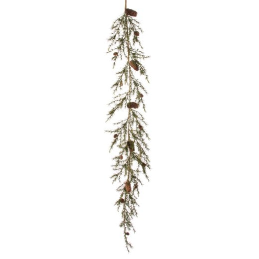 Danish Collection Larix Garland with Cones