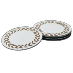 Danish Collection Laurel Leaf Coaster - Sold Individual