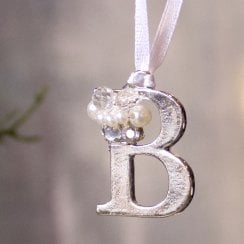 Danish Collection Letter B - Polished Metal