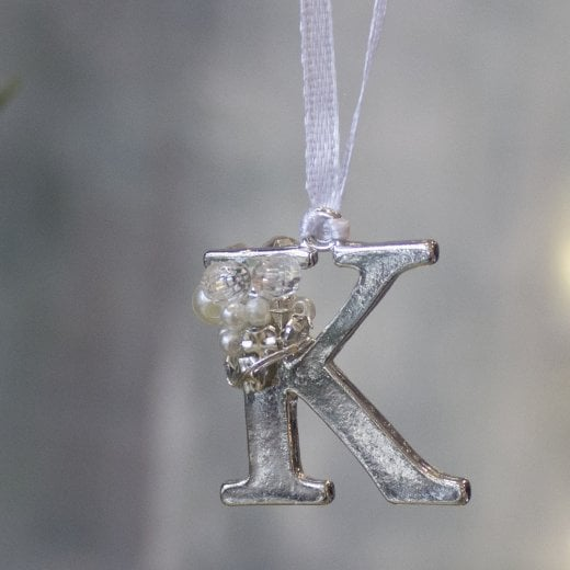Danish Collection Letter K - Polished Metal