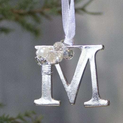 Danish Collection Letter M - Polished Metal