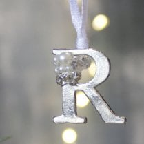 Danish Collection Letter R - Polished Metal