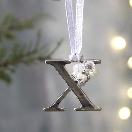 Danish Collection Letter X - Polished Metal