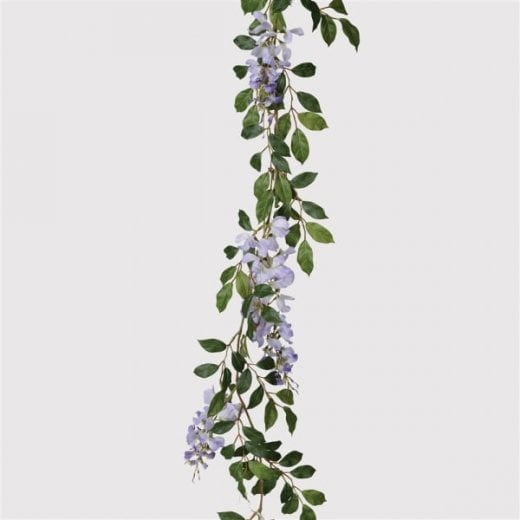 Danish Collection Lilac Wisteria Garland