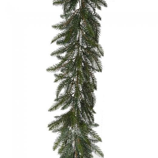 Danish Collection Long Green Pine Garland