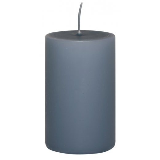 Danish Collection Medium Plain Candle - Pigeon Blue