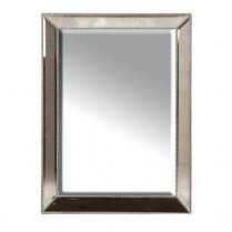 Danish Collection Mirror silver with beading effect 1225mmx920mm