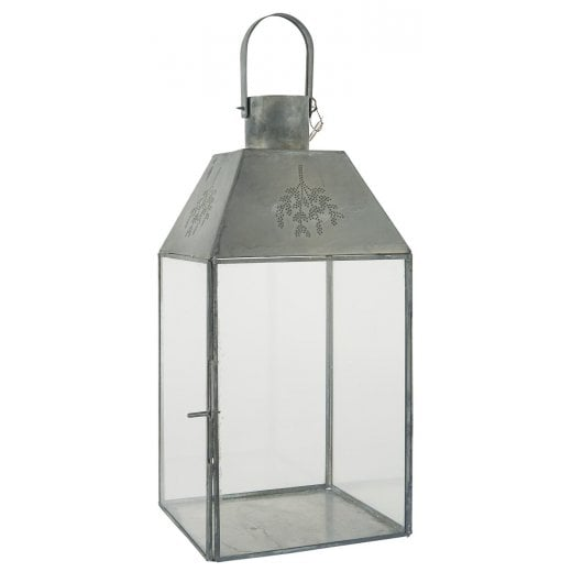 Danish Collection Mistletoe Lantern - Grey