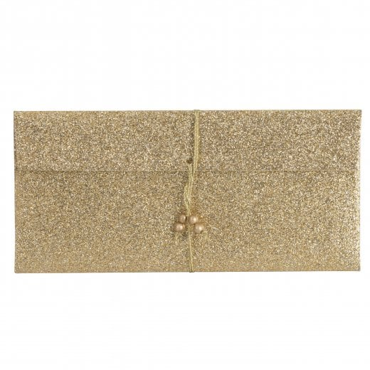 Danish Collection Money Pouch - Glittery Gold