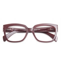 Danish Collection Mood Reading Glasses - Dark Red