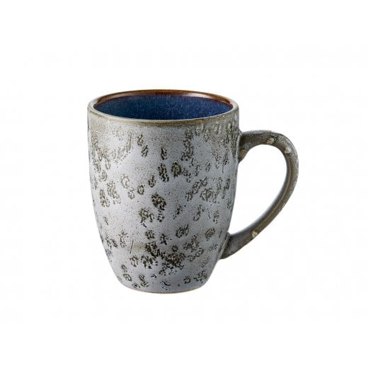 Danish Collection Mug - Grey/Dark Blue