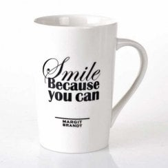 "Danish Collection Mug ""Smile Because"""