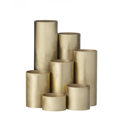 Danish Collection Pencil Holder - Brass