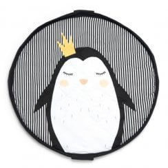 Danish Collection Play and Go Baby Play Mat and Bag Penguin