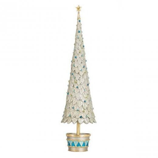 Danish Collection Porcelain Christmas Tree - Green