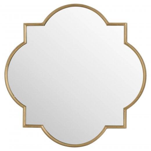 Danish Collection Quaterfoil Mirror - Antique Bronze