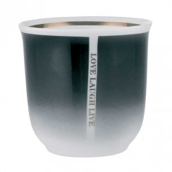 Danish Collection Quote Mug - Black
