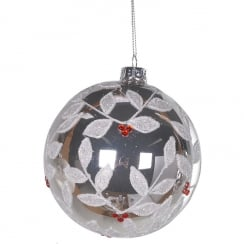 Danish Collection Red Berry Bauble